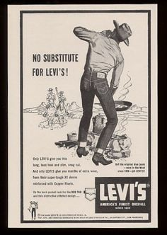 REAL cowboys wore LEVIS...YES,!!