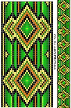 native american tribal beading patterns - Google Search