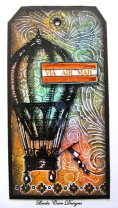 Linda Cain: Stampers Anonymous Remnants stamp set http://cain81art.blogspot.com/2012/04/up-up-and-away-tutorial-with-dylusions.html#