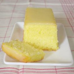 Cakes in the city: Cake au citron et aux amandes