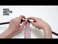 How To Knit Your Knitting Me Softly Necklace   WATG Blog