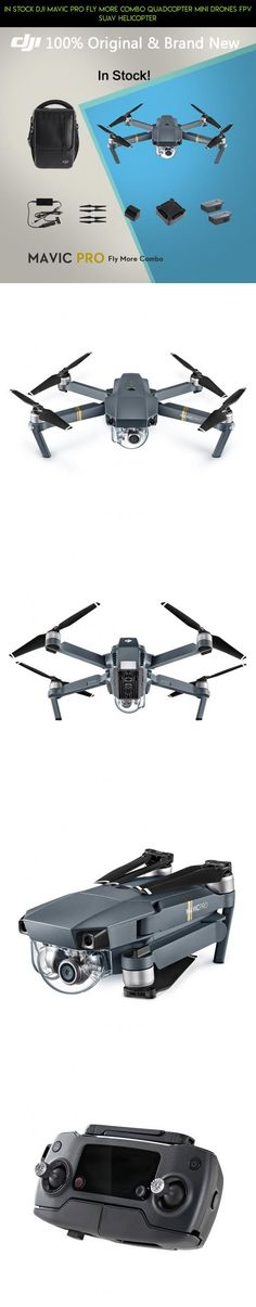 In Stock DJI Mavic Pro Fly More Combo Quadcopter Mini Drones FPV sUAV Helicopter #combo #fly #kit #technology #parts #plans #racing #quadcopter #mavic #fpv #pro #drone #shopping #gadgets #tech #camera #products #more