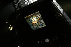 Ascensor de l'Ateneu Barcelonès, de Josep Maria de Jujol Barcelona, Art Nouveau, Elevator, Stained Glass Windows, Buildings, Architects, Barcelona Spain