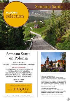 Semana Santa en Polonia - 8 días/7 noches desde 1.090 € + tasas ultimo minuto - http://zocotours.com/semana-santa-en-polonia-8-dias7-noches-desde-1-090-e-tasas-ultimo-minuto/