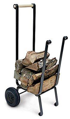 Pilgrim Super Duty Wood Cart | seattleluxe.com