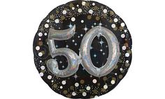 50th Birthday Balloons - Party City