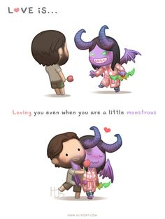 HJ-Story » Even When You're a Little Monstrous