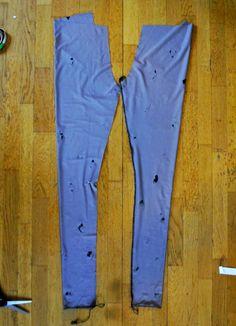 mallikelpoinen: How i do it Khaki Pants, Leggings, Coat, Jackets, Diy, Sewing Ideas, Fashion, Down Jackets, Moda