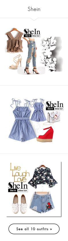 """""""Shein"""" by ahmetovic-mirzeta ❤ liked on Polyvore featuring Élitis and PTM Images"""