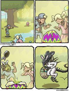 The Easter Queen [Comic]Really nice recipes. Every hour.Show me  Mein Blog: Alles rund um die Themen Genuss & Geschmack  Kochen Backen Braten Vorspeisen Hauptgerichte und Desserts