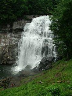 North Carolina Top 25 Waterfalls. Rainbow Falls