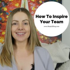 """""""There is no 'I' in team but there is in win"""" – Michael Jordan  Check out my latest blog post on how to inspire your team.   http://www.stephjking.com/leadership-tip-inspire-team/"""