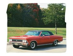 "1966 Chevrolet Chevelle Photo Blanket / Wall Banner 50 x 60"" or 60 x 8 – GMPhotoGifts.com"