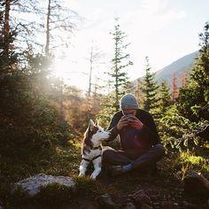 "abigaildemyanek on Instagram: ""Sunrise coffee in the backcountry ☕️."""
