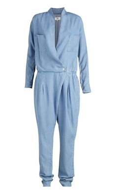 Jumpsuit aus weichem Denim - Blau von Noa Noa