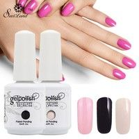 Features: 7ml  about 60g/pcs Belong to LED & UV Soak off nail gel polish. Can be cured by LED and UV