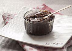 Lili's Kitchen : Mi-cuit au chocolat, coeur coulant a l'erable