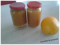 Confiture d'orange à la canelle au thermomix - La cuisine de poupoule