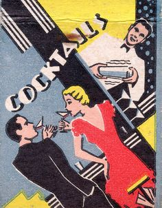 Art Deco cocktails