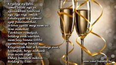 Újévi köszöntők (BUÉK) Christmas And New Year, Evo, Happy New Year, Minden, Google, Happy New Year Wishes