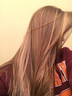 lovin my butterscotch dark blonde colored hair