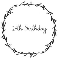 7 Desirable Happy 24th birthday images | Gift ideas, Romantic