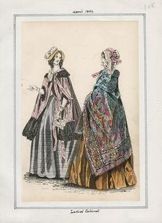 Ladies' Cabinet April 1846 LAPL