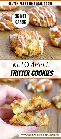Low Carb Desserts, Low Carb Recipes, Simple Keto Desserts, Keto Apple Recipes, Easy Keto Dessert, Ketogenic Desserts, Keto Friendly Desserts, Dip Recipes, Potato Recipes