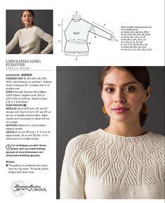 """Wear """"- Wool Studio Vol. Knitwear Fashion, Knit Fashion, Sweater Knitting Patterns, Knitting Stitches, Designer Knitting Patterns, Crochet Blouse, Knit Crochet, Knitting Magazine, How To Purl Knit"""