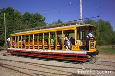 Trolley Museum Maine | Picture of The Seashore Trolley Museum, Kennebunkport, Maine - Free ...