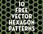 10 Free Vector Hexagon Patterns | CreativePro.com
