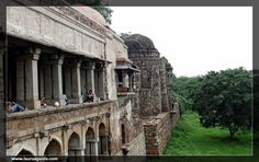 Hauz Khas Complex is situated in South Delhi, which is known for a mosque, pavilions,  tomb,  water tank and an Islamic seminary. All these structures were built during 13th century under the reign of Delhi Sultanate. There is a large water tank or reservoir at this site, which was constructed by Khilji rulers for supplying water to the residents of Siri region.  It also has a Tomb of Firuz Shah Tughlaq, who ruled Delhi from 1351 to 1388.