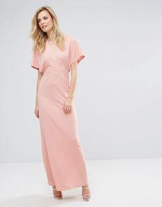 c3e4ee71d55 Oh My Love Tall Maxi Dress With Kimono Sleeves at asos.com