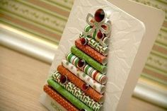 Creative Ideas - DIY Wrapping Paper Christmas Tree 8