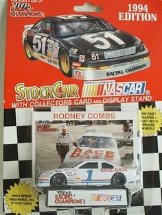Very Rare 1994 Racing Champions #1 Rodney Combs Race Daze Ford Thunderbird 1:64 #RacingChampions #Ford