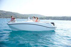 Motor-boat : outboard center console boat - Activ 555 Open 5,55m - 18' 3 - Quicksilver #Boats - Videos