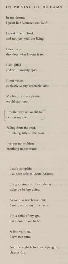 Poem Bouquet: Wisława Szymborska