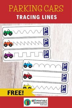 Transportation Themed Literacy and Math Centers | Free Printable Worksheets For Kids