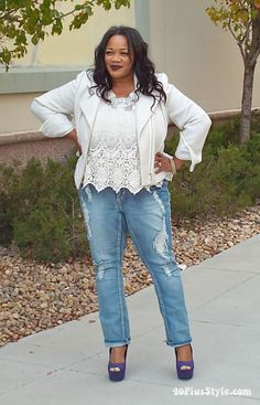How to break the plus size syle rules and look amazing! | 40plusstyle.com