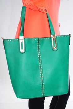 Floating Away Purse: Green