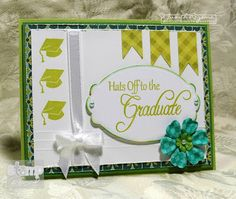 Lovely, elegant graduation card