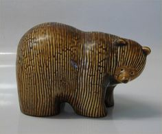 Lisa Larson bear - could try to make this pattern with polymer clay