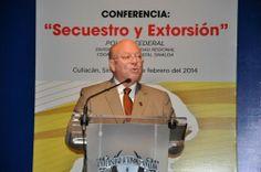"""Rector de la UAS inaugura ciclo de conferencias """"Extorsión y secuestro"""""""