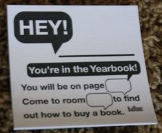 Guerrilla Marketing for Yearbook Sales