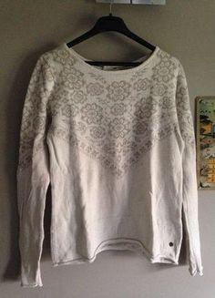 À vendre sur #vintedfrance ! http://www.vinted.fr/mode-femmes/pull-overs/26660816-pull-hm-blanc-et-beige