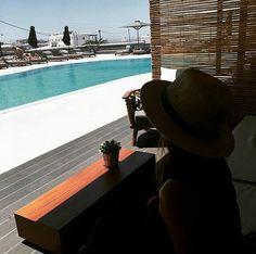 My Mykonos Hotel Lux Hotels, Mykonos Hotels, Exterior Design, Panama Hat, Greece, Brand New, Boutique, Greece Country, Home Exterior Design
