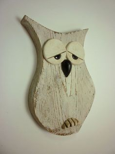 Wooden Pallet Crafts, Pallet Art, Wood Craft Patterns, Animal Puzzle, Small Wood Projects, Owl Crafts, Woodworking Projects That Sell, Wooden Animals, Christmas Wood