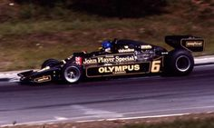 Ronnie Peterson, John Player Special, Lotus-Ford 78, Monza, September, 1978.