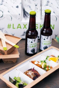 A packaging specially designed for Swedish tapas served from a food truck. The concept highlights smart and fancy takeaway, social media communication and high quality food cooked with ingredients of local origin.