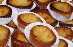 How to make Portuguese milk tarts.